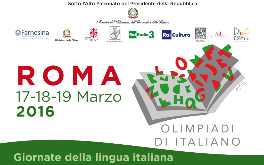 OLIMPIADI DI ITALIANO NELLE GIORNATE DELLA LINGUA ITALIANA